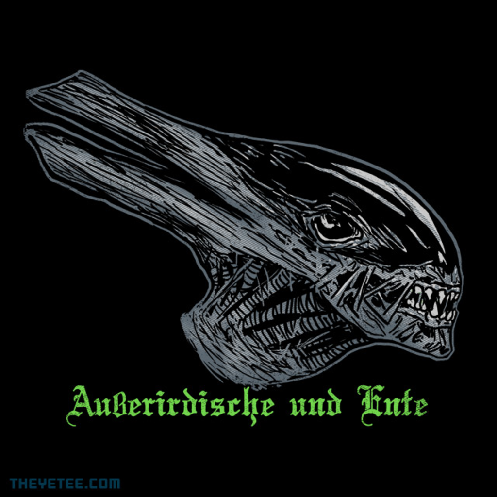 The Yetee: Alien and Duck