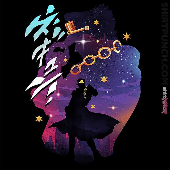 ShirtPunch: Jotaro The Star