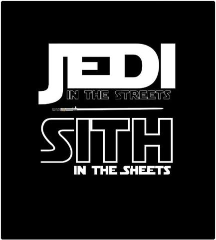 Shirt Battle: Jedi Sith