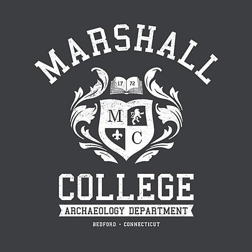 Five Finger Tees: Marshall College T-Shirt