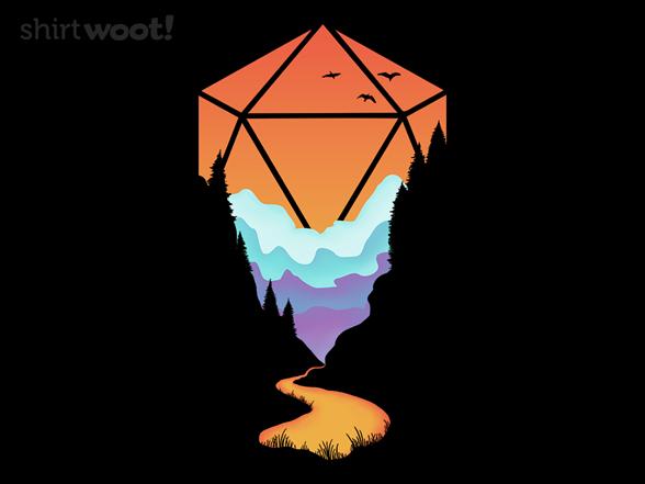 Woot!: Rainbow D20
