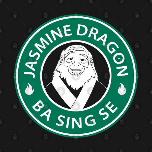 TeePublic: The Jasmine Dragon Uncle Iroh Avatar