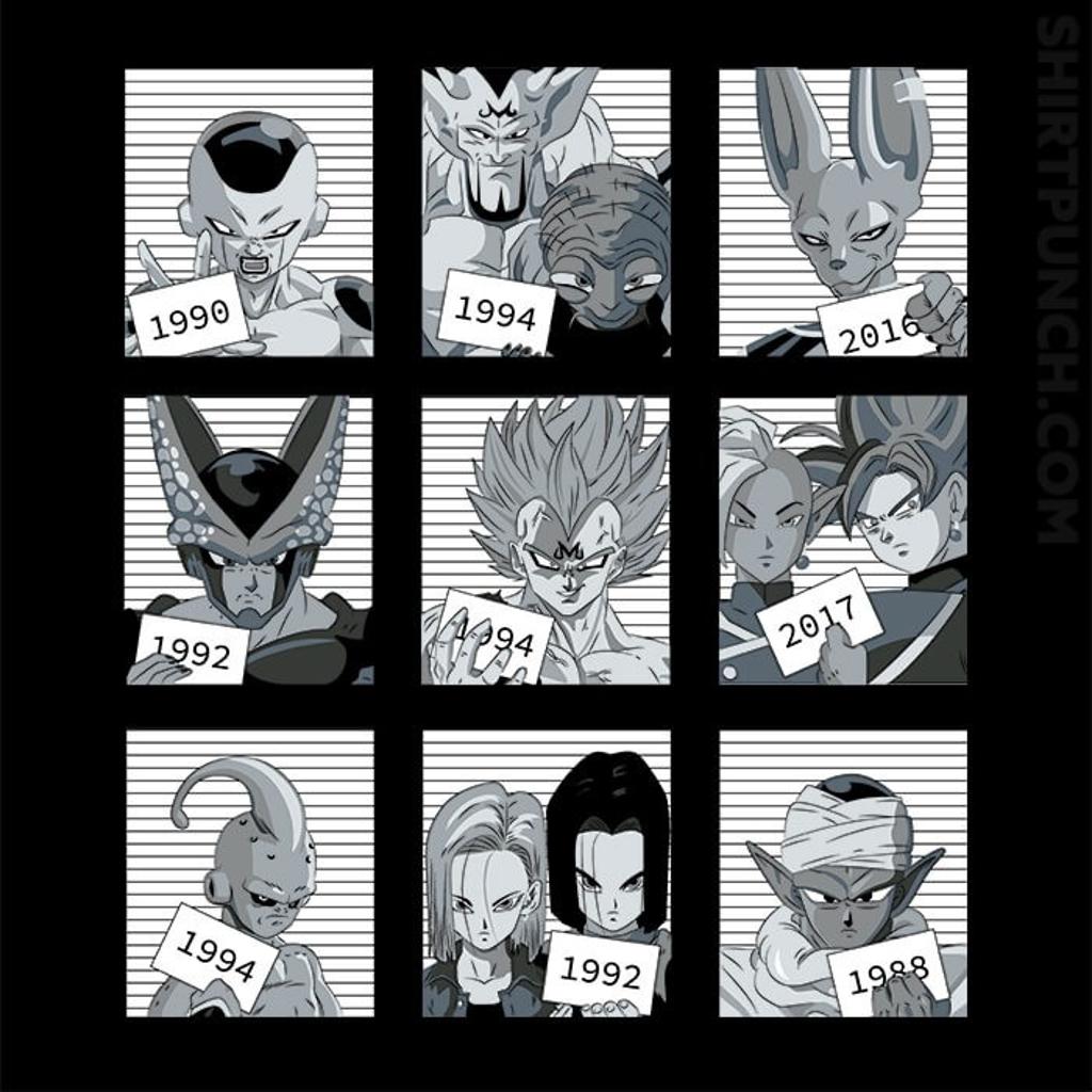 ShirtPunch: Dragon Jail