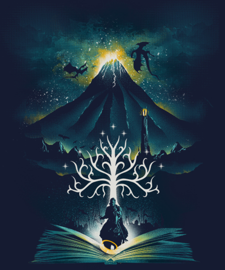 Qwertee: Book of the Return