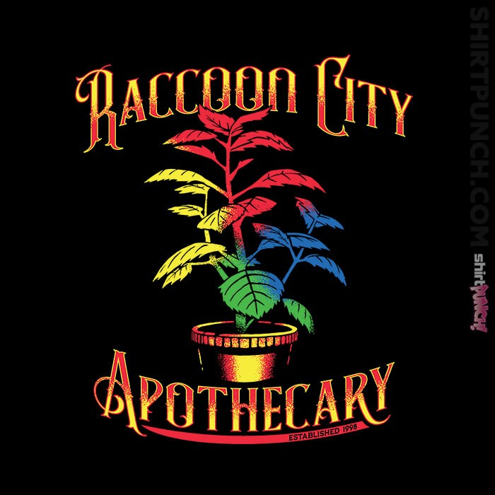 ShirtPunch: Raccoon City Apothecary