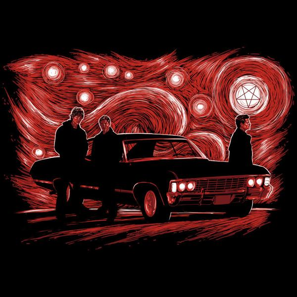 Tee11: Supernatural Night – Red Variant