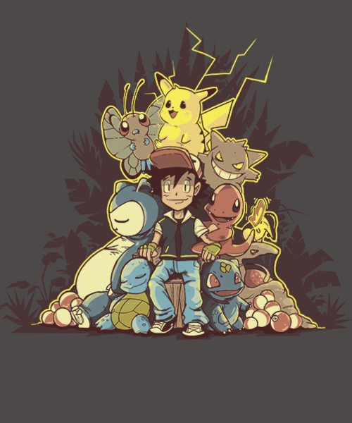 Qwertee: You Win or Game Over!