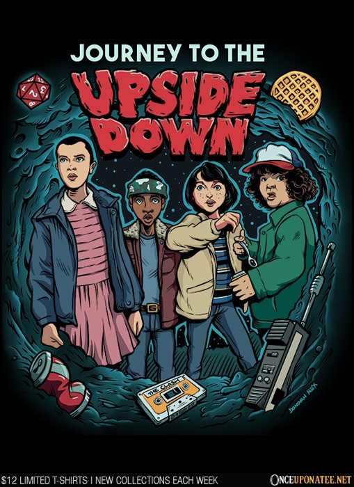 Once Upon a Tee: Journey to the Upside Down