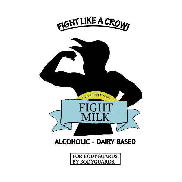 TeePublic: Fight Milk