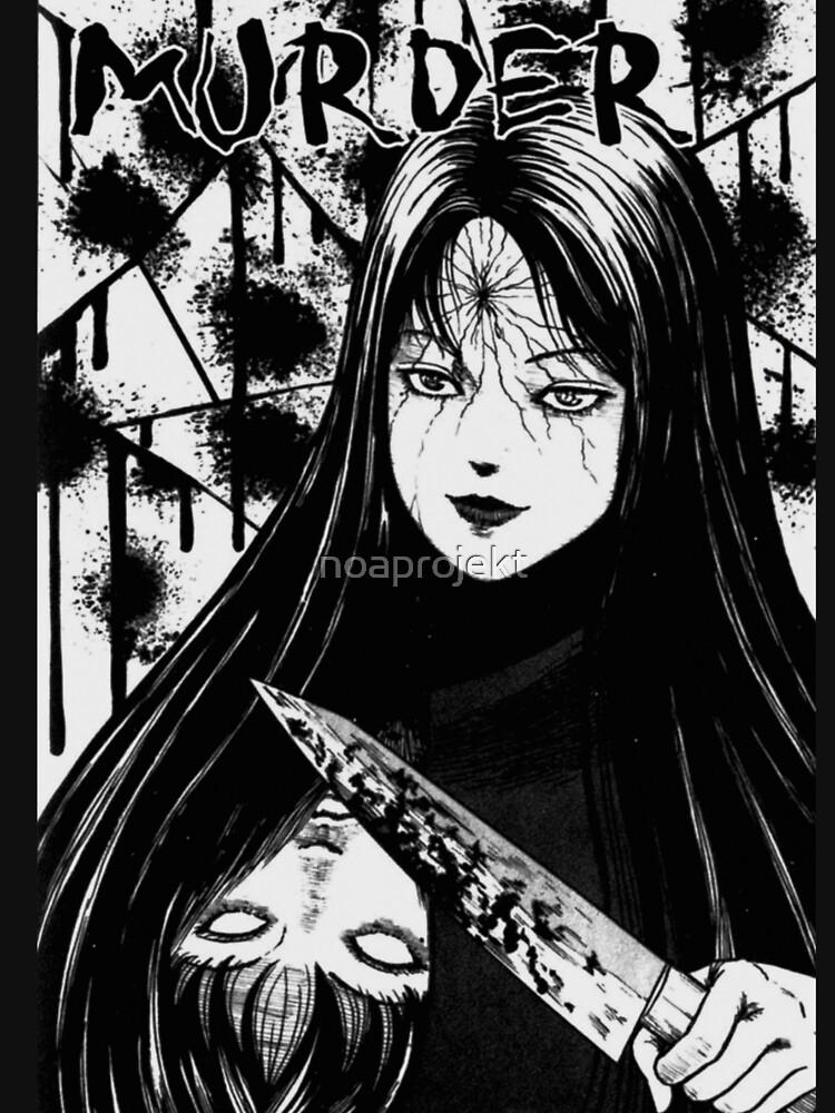 RedBubble: Tomie - Murder - Junji Ito