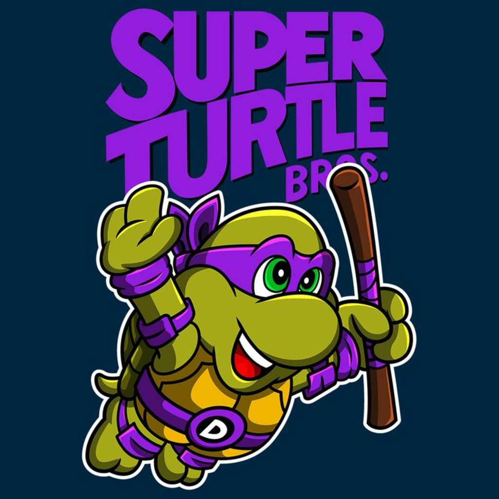 Curious Rebel: Super Turtle Bros Donnie