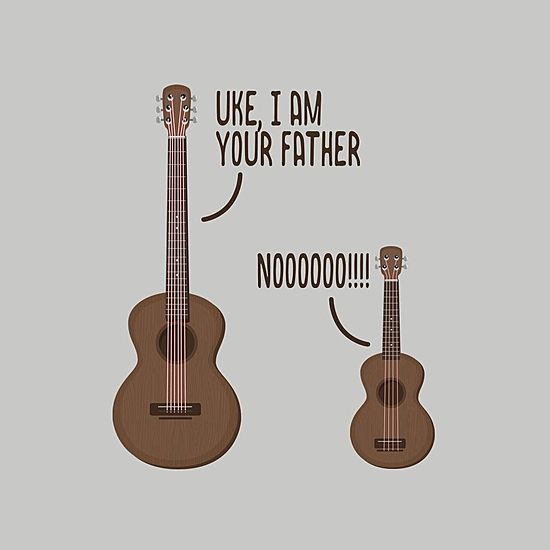 BustedTees: Uke, I am Your Father
