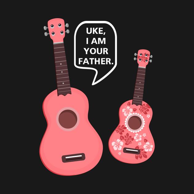 TeePublic: UKE, I AM YOUR FATHER.