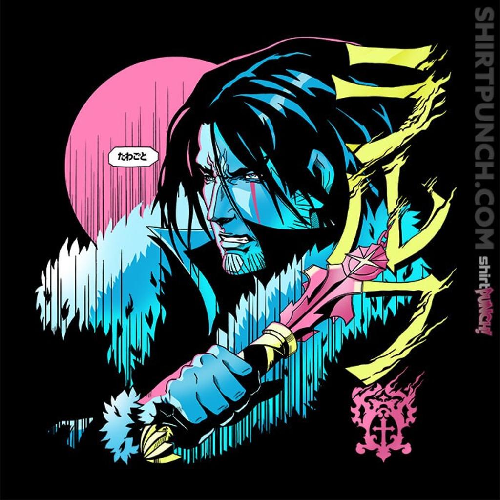 ShirtPunch: Trevor The Vampire Hunter