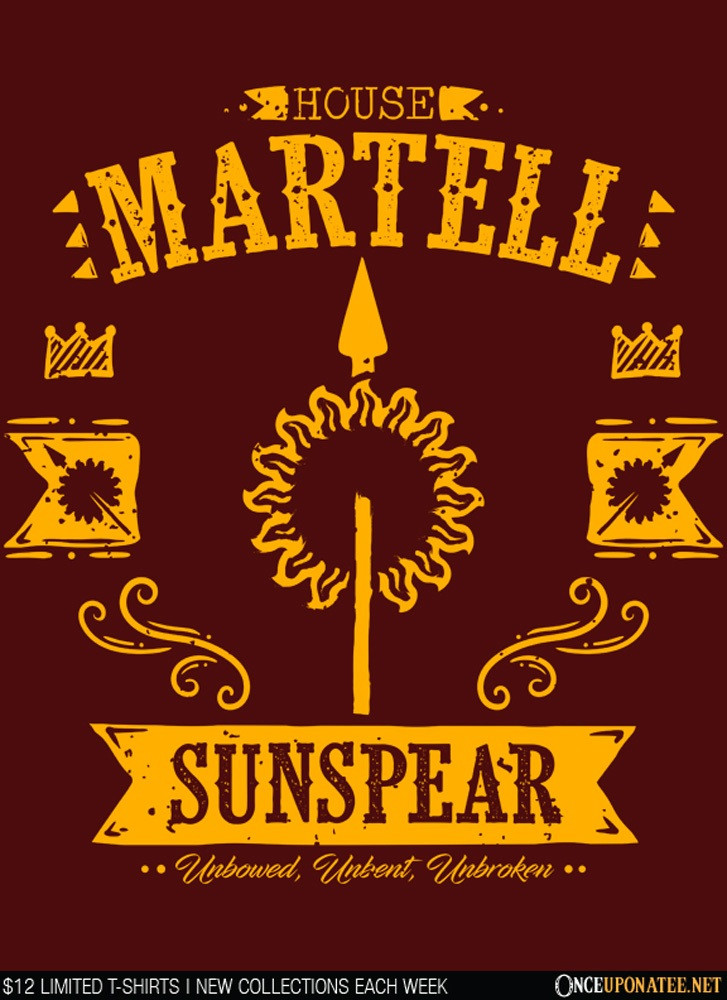 Once Upon a Tee: The Sunspear