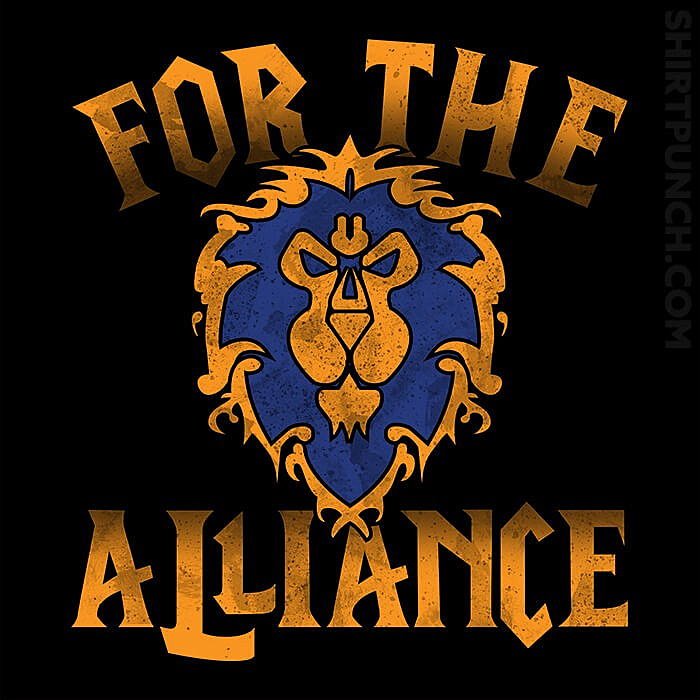 ShirtPunch: For The Alliance