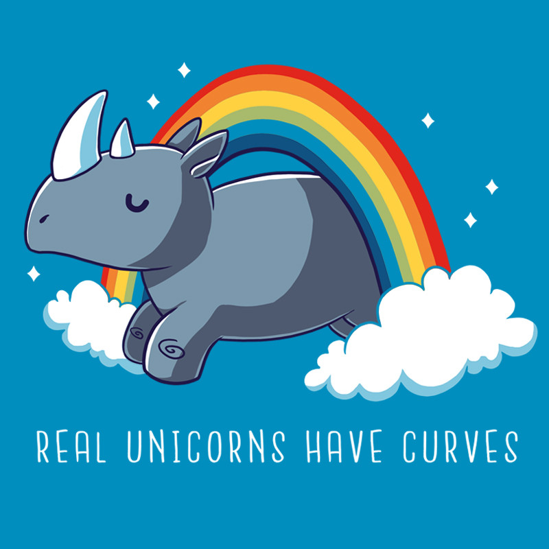 TeeTurtle: Real Unicorns Have Curves
