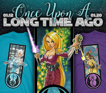 TeeFury: Once Upon a Long Time Ago Collection