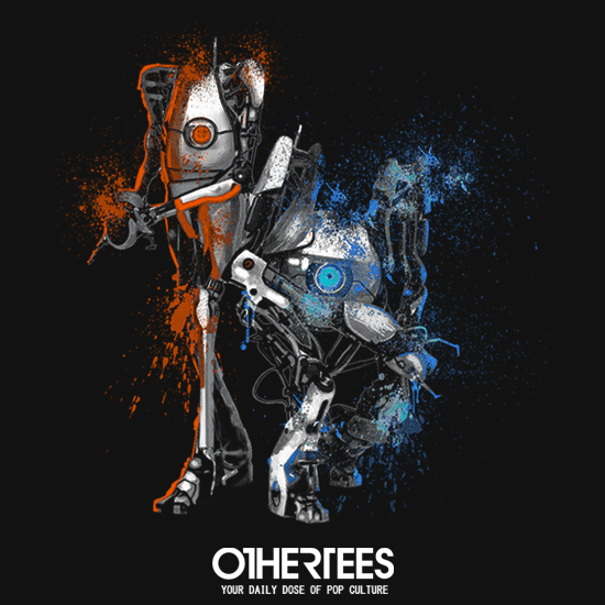 OtherTees: Orange & Blue