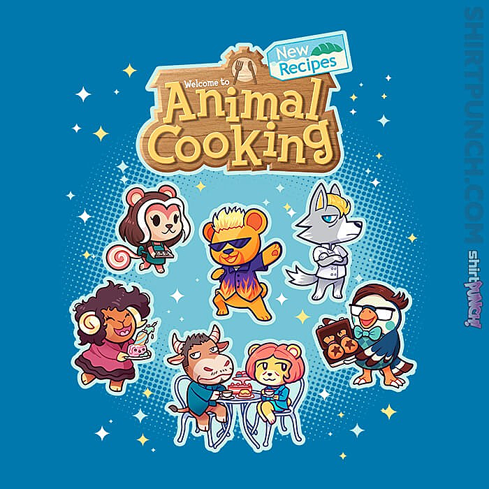 ShirtPunch: Cooking Crossing