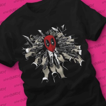 ShirtPunch: 12 Glorious Months of Deadpool Bundle (Shirt Only)