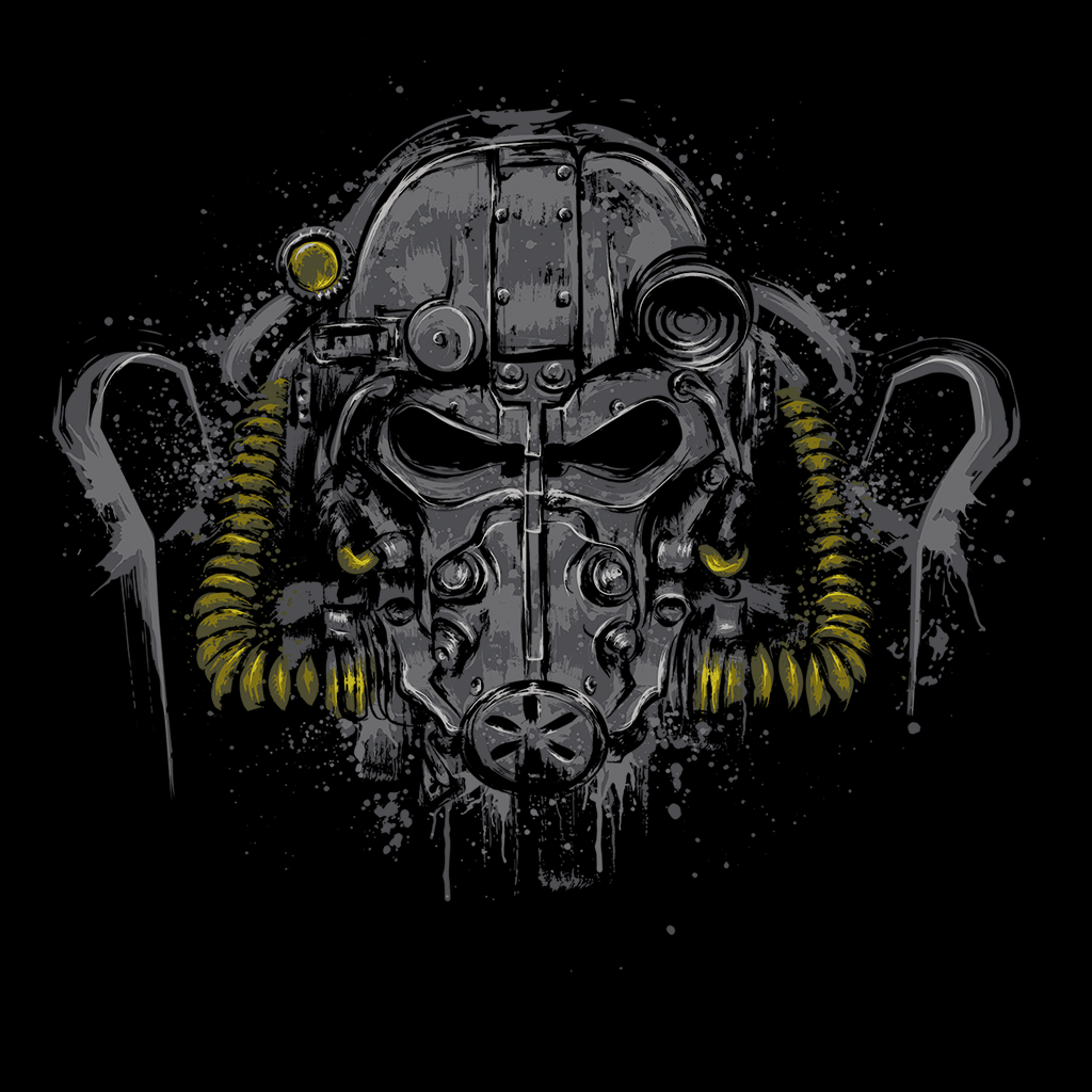 Pop-Up Tee: T-60 Power Armor