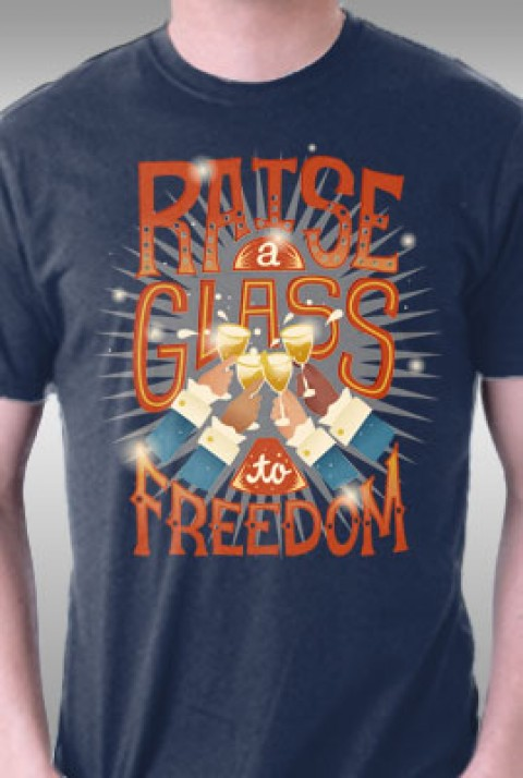 TeeFury: Raise A Glass To Freedom