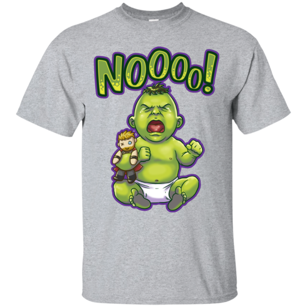 Pop-Up Tee: Green Crybaby