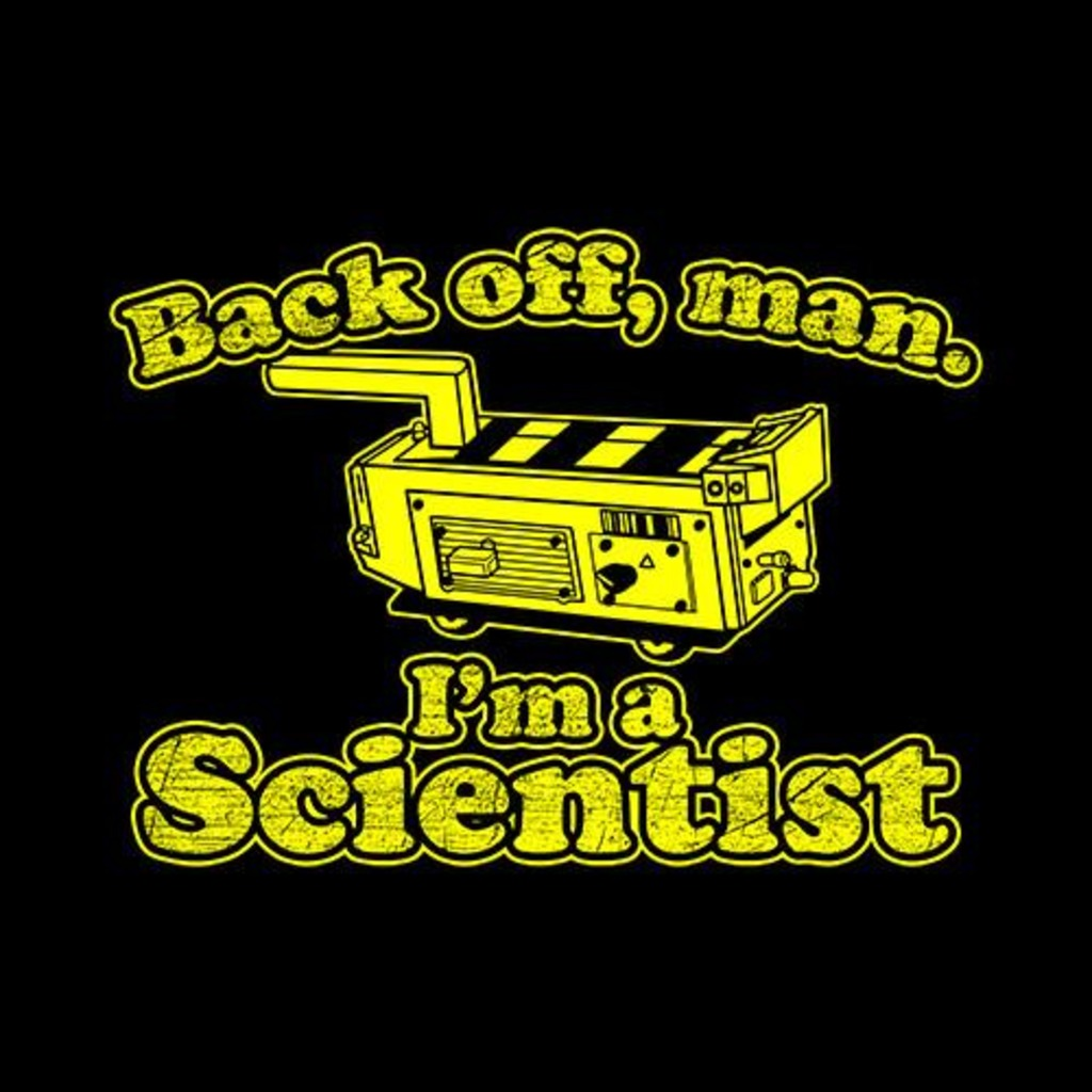 Five Finger Tees: Back Off Man I'm A Scientist T-Shirt