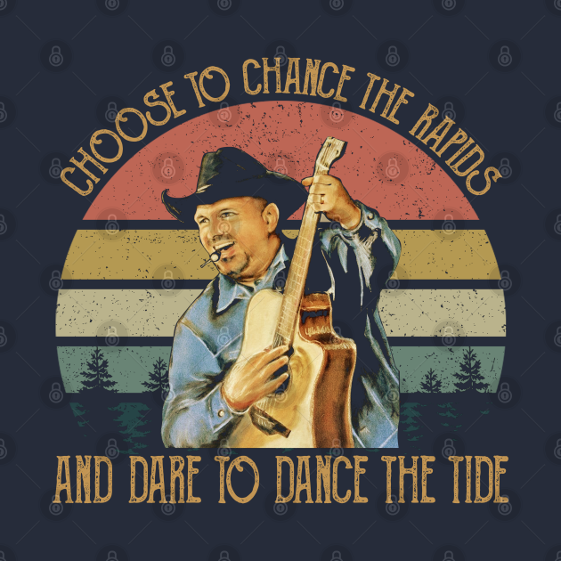 TeePublic: Vintage Garth Tees Brooks Country Music Gift For Fans And Lovers