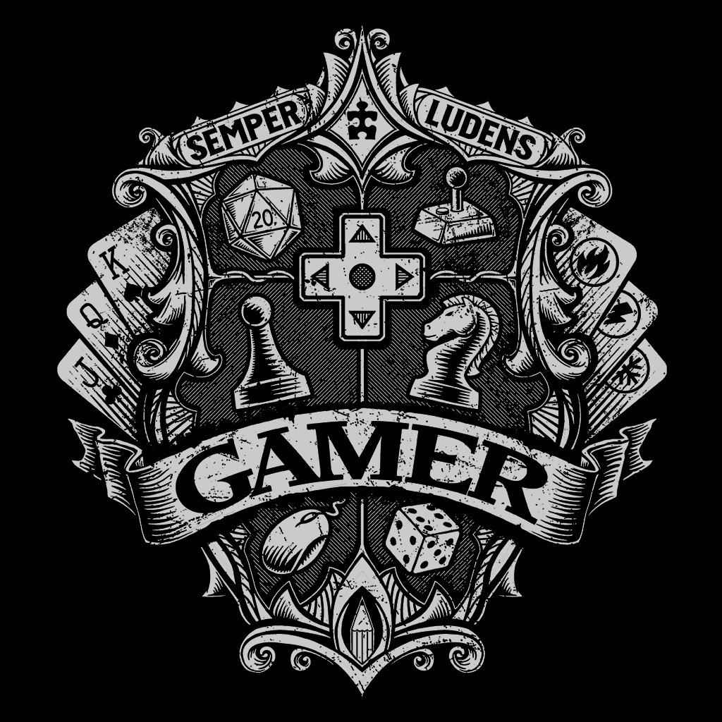 Pop-Up Tee: Gamer Crest