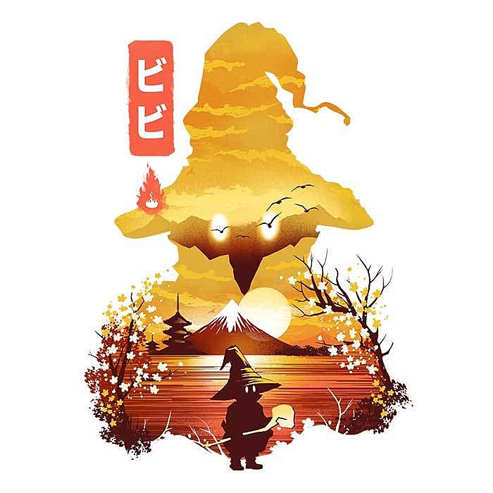 Once Upon a Tee: Vivi Ukiyo-e
