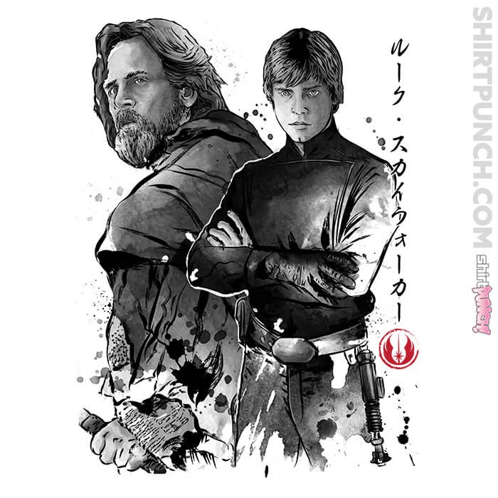 ShirtPunch: Old And Young Jedi