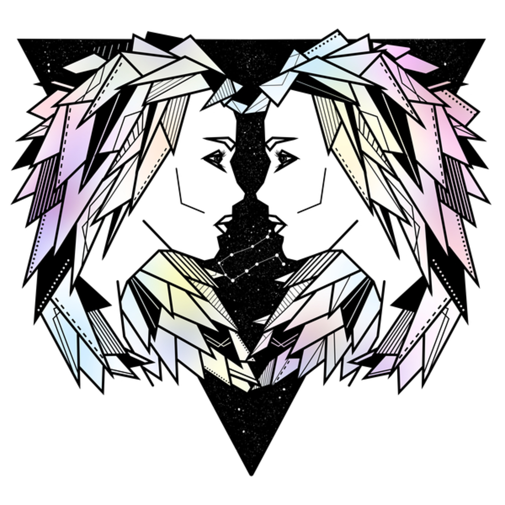 NeatoShop: Gemini twins zodiac sign