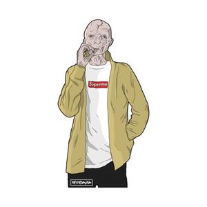 TeePublic: 'Supreme' Leader Snoke