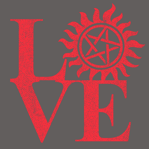 Textual Tees: Love Hunting Supernatural