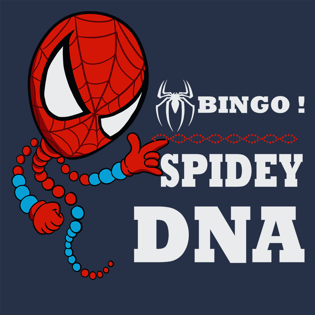 Pop-Up Tee: Bingo Spidey