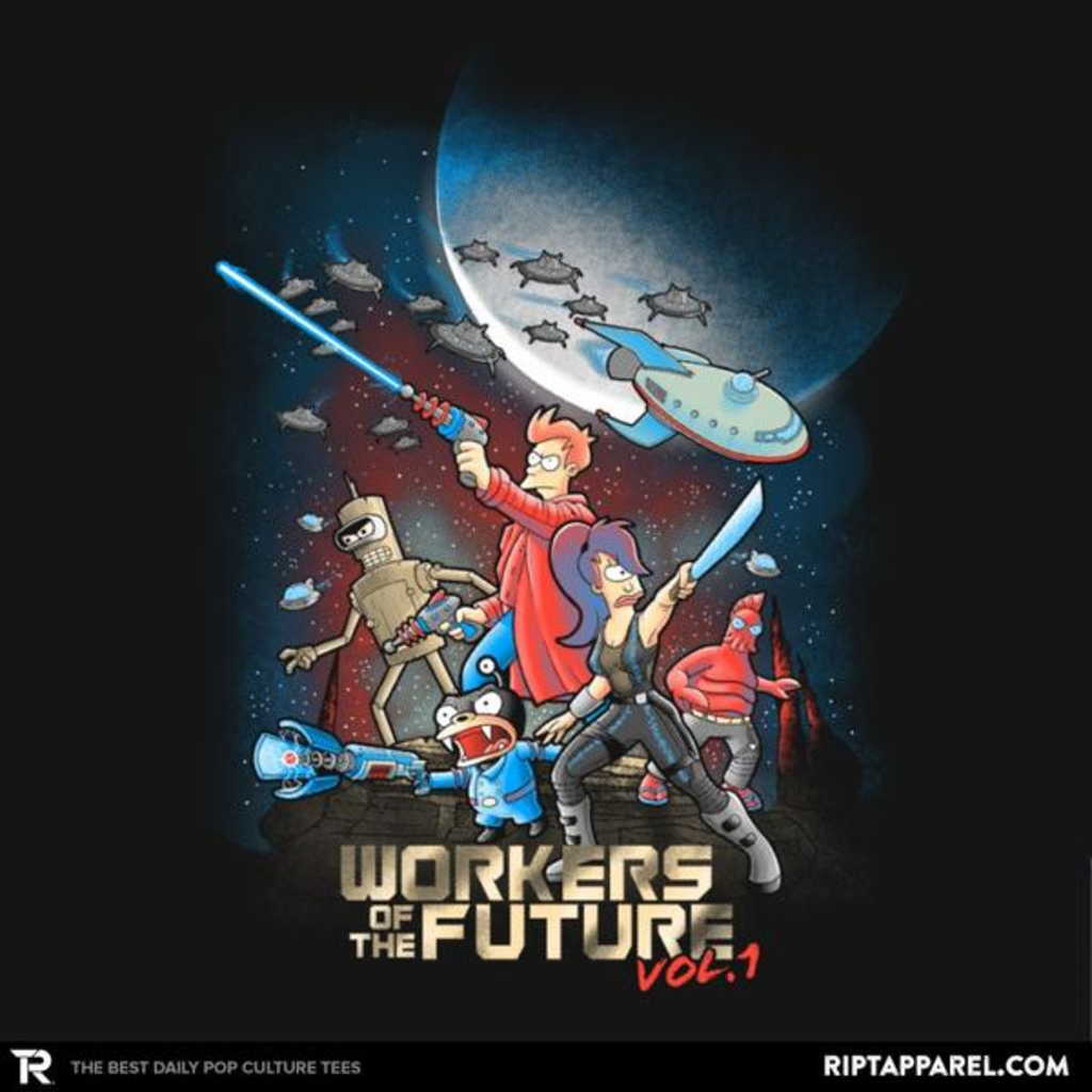 Ript: Workers of the Future vol 1