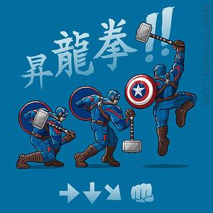 ShirtPunch: Captain Shoryuken