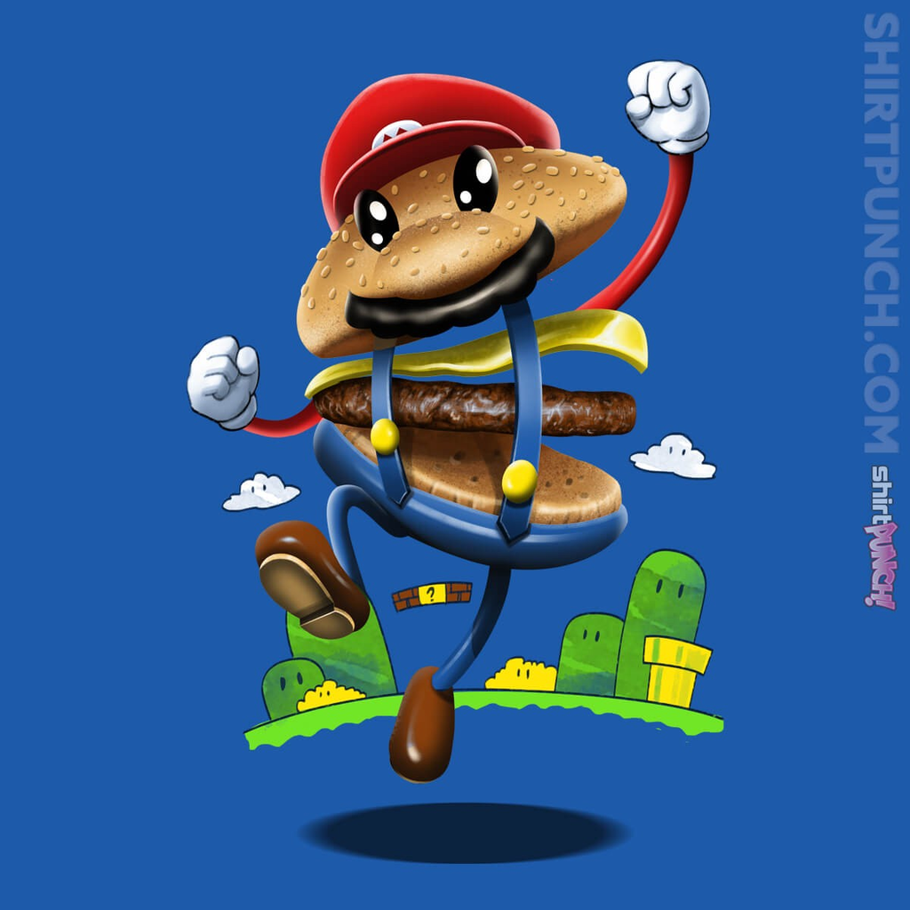 ShirtPunch: Super Burger Bro