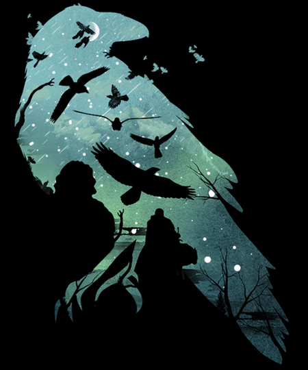 Qwertee: Night's Watch
