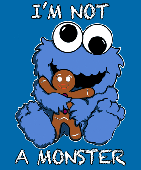 Qwertee: Baby Monster