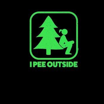 BustedTees: I Pee Outside