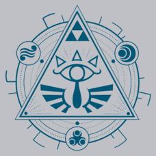 Textual Tees: Zelda Mandala