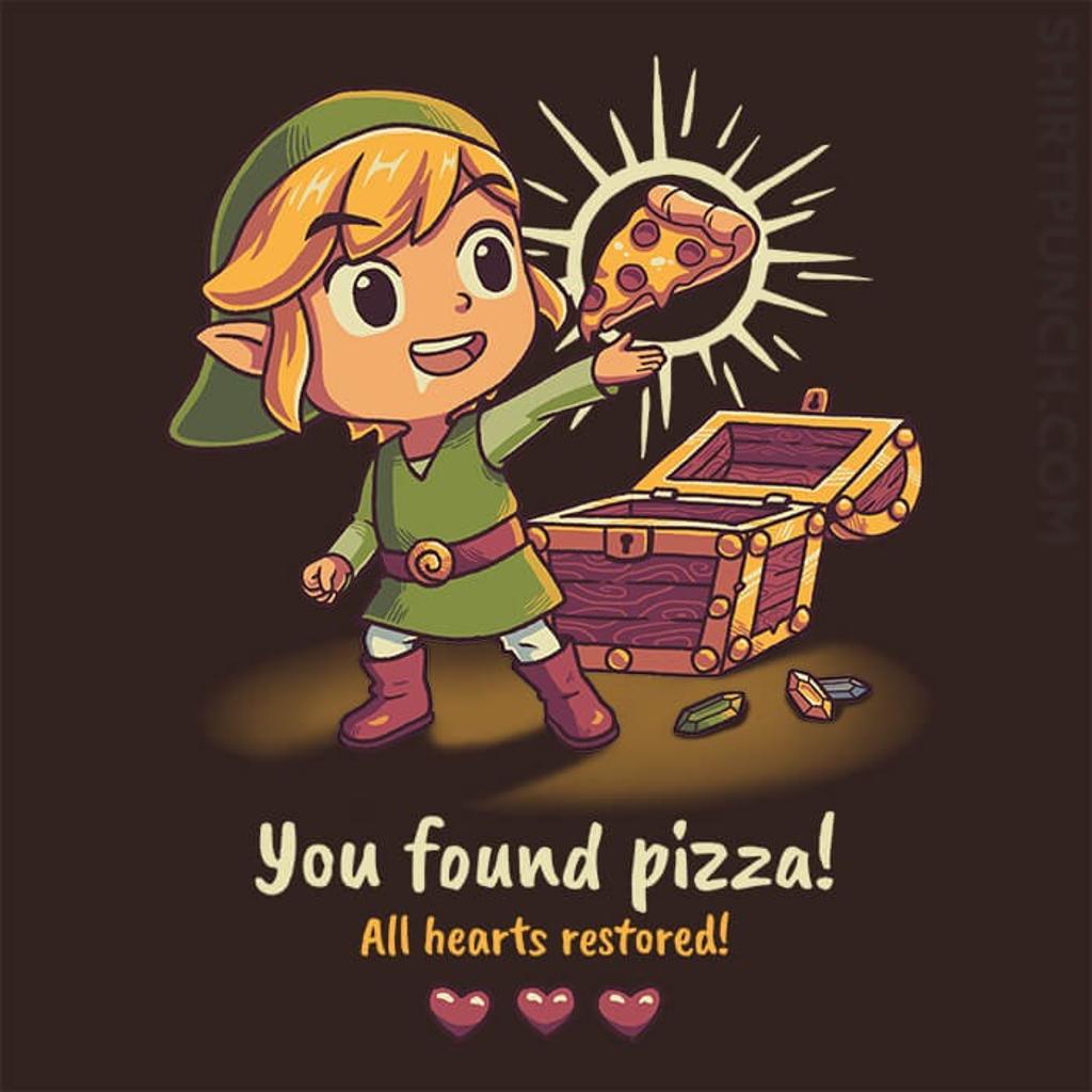 ShirtPunch: Legendary PIzza