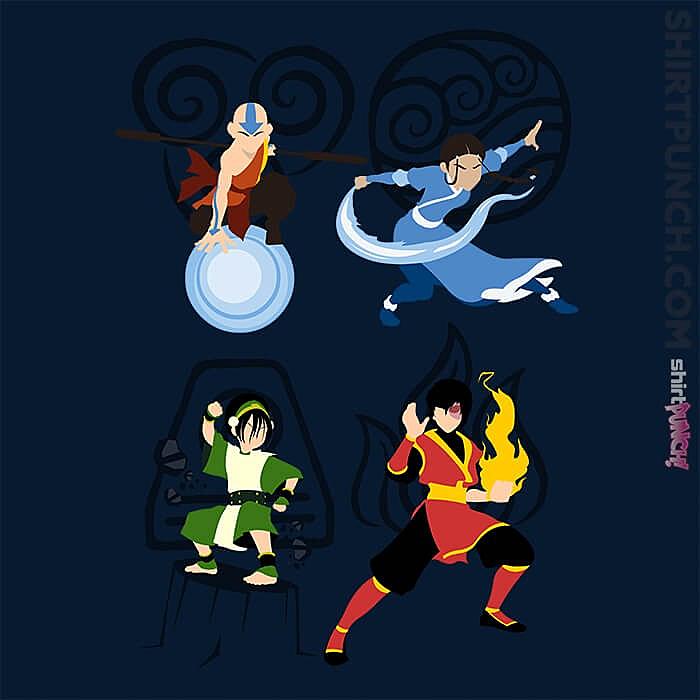 ShirtPunch: Avatar Elements