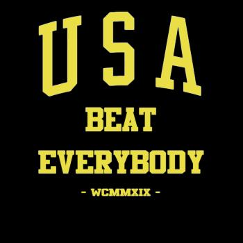 BustedTees: USA Beat Everybody