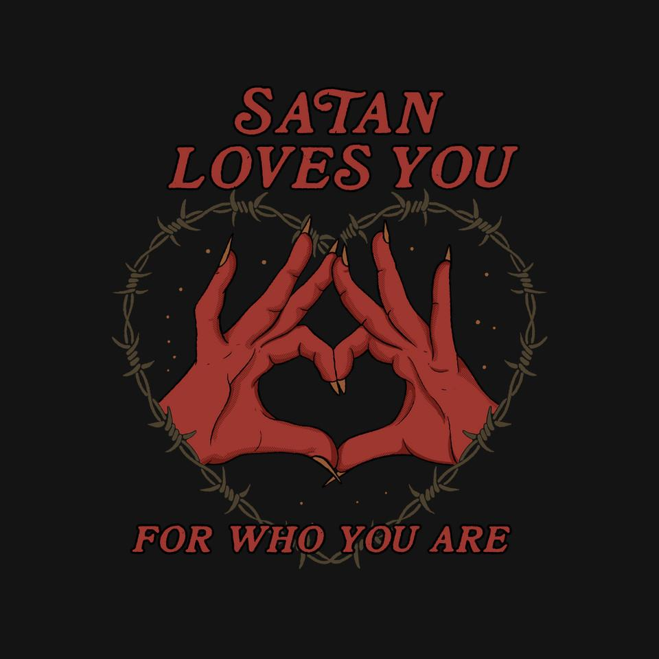TeeFury: Satan Loves You