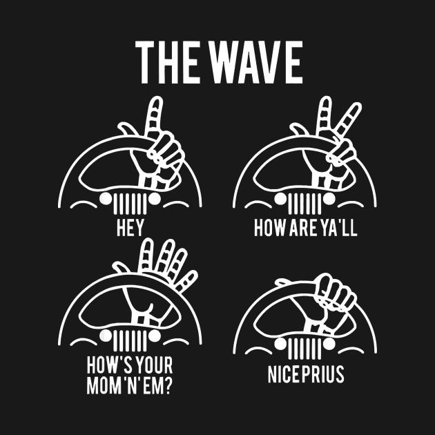 TeePublic: The Jeep Wave