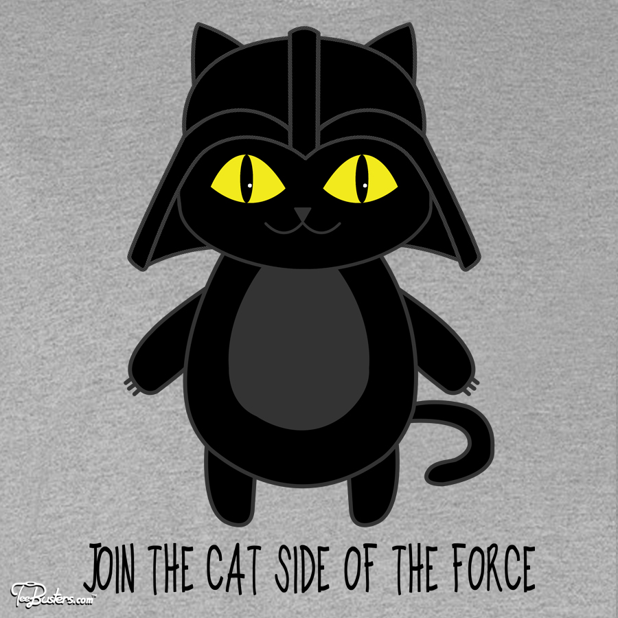 TeeBusters: Cat Vader